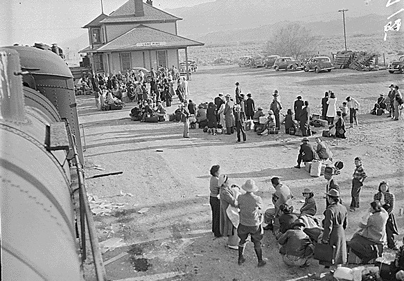 japanese american internment essay Japanese internment refers to the relocation of japanese- american citizens and their descendants from their home into the war relocation camps during the world war ii.